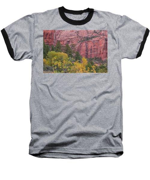Kolob Canyon Colors Baseball T-Shirt