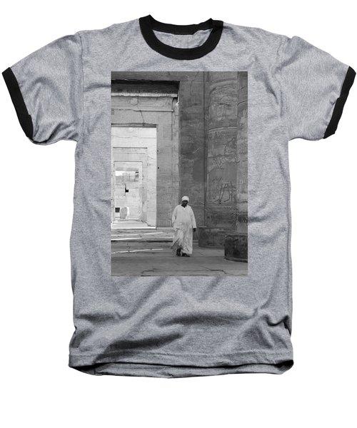 Kom Ombo Temple Baseball T-Shirt by Silvia Bruno