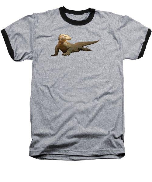 Komodo Dragon Tee Shirt Baseball T-Shirt