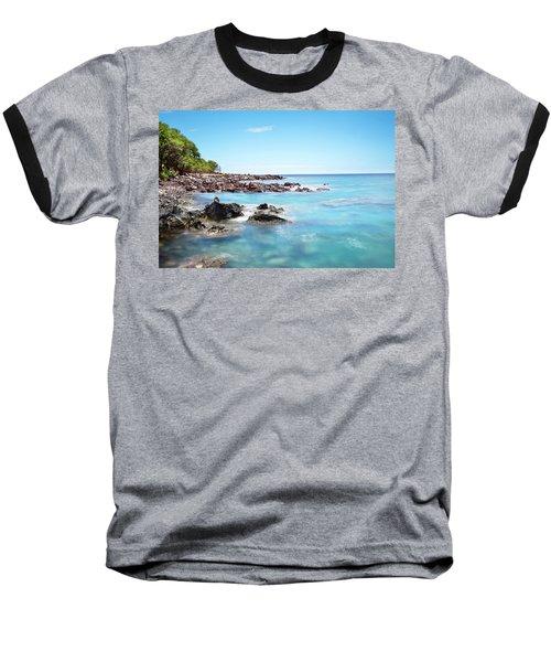 Kona Hawaii Reef Baseball T-Shirt by Joe Belanger