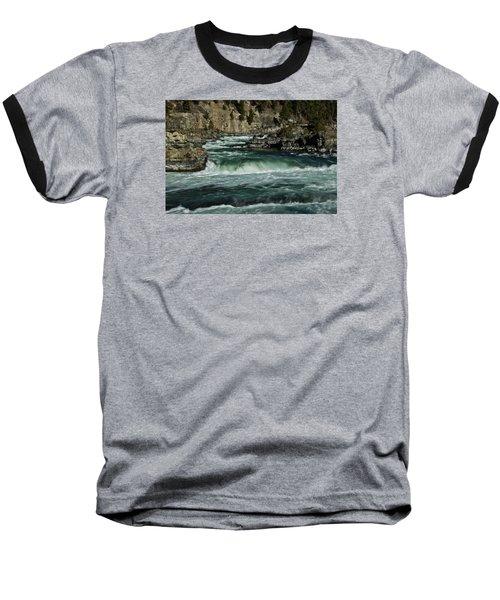Kootenai Falls, Montana 2 Baseball T-Shirt