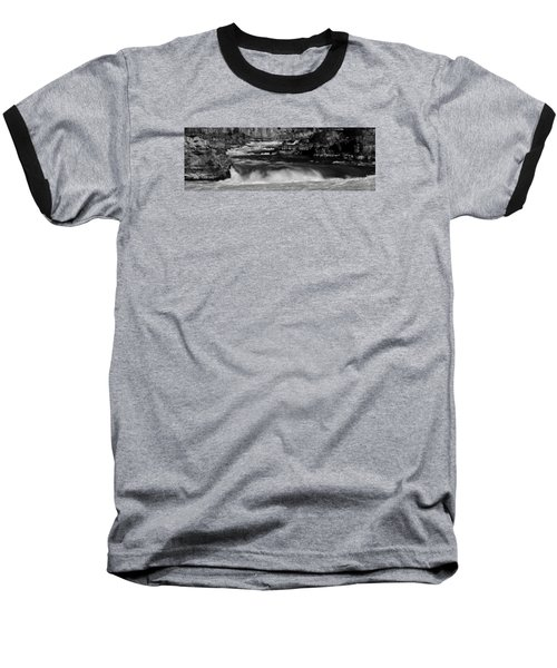 Kootenai Falls, Montana Baseball T-Shirt