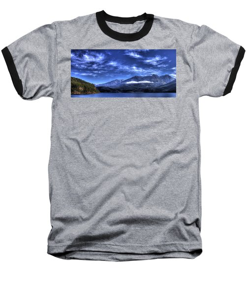 Kootenai Lake From Kaslo Baseball T-Shirt