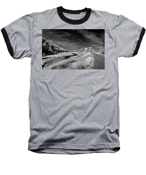 Kootenai Wildlife Refuge In Infrared 2 Baseball T-Shirt