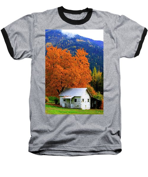 Kootenay Autumn Shed Baseball T-Shirt