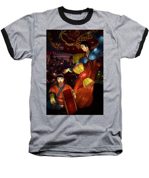 Korean Drummers Baseball T-Shirt