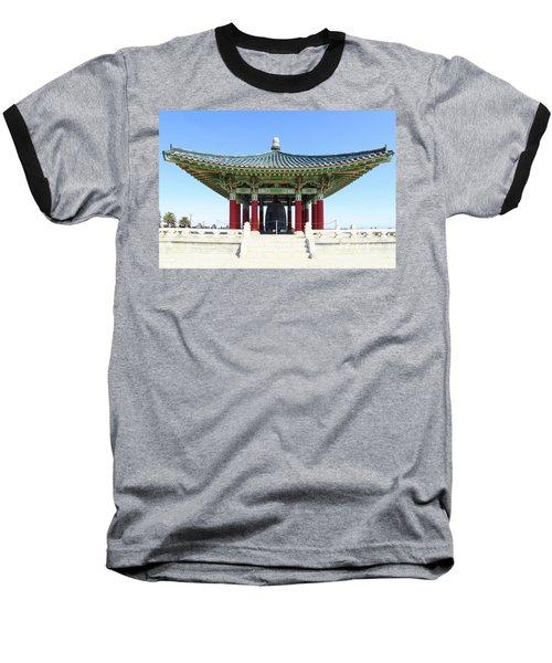 Korean Friendship Bell In Los Angeles Baseball T-Shirt