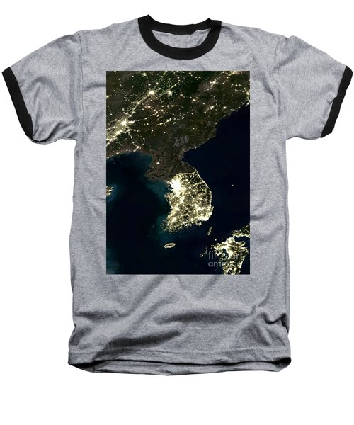 Korean Peninsula Baseball T-Shirt