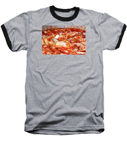 Korean Style Fermented Spicy Cabbage Baseball T-Shirt