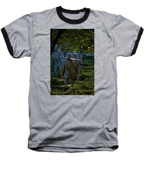 Korean War Memorial Baseball T-Shirt