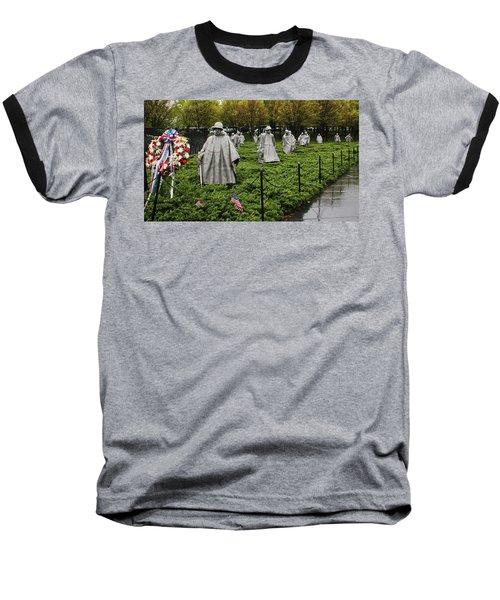 Korean War Veterans Memorial Baseball T-Shirt