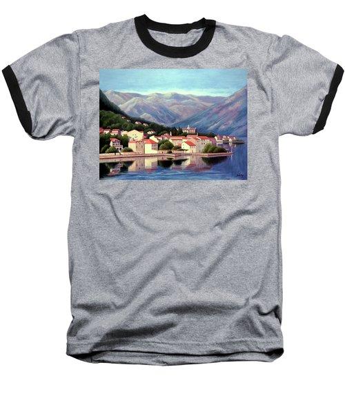 Kotor Montenegro Baseball T-Shirt