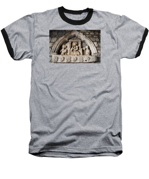 Kotor Wall Engraving Baseball T-Shirt