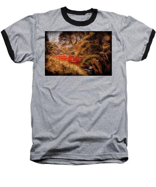 Kowloon - Red Bridge Baseball T-Shirt