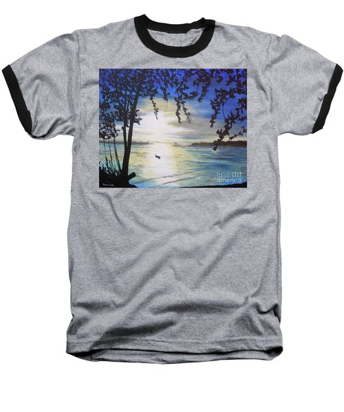 Baseball T-Shirt featuring the painting Krabi by Stuart Engel