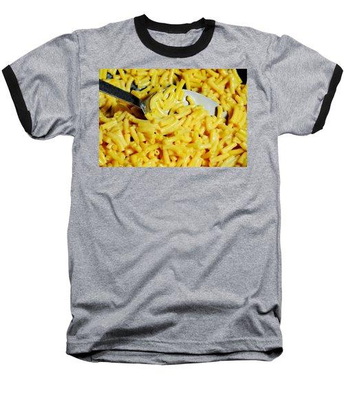 Kraft Mac'n Cheese Baseball T-Shirt by Diana Angstadt