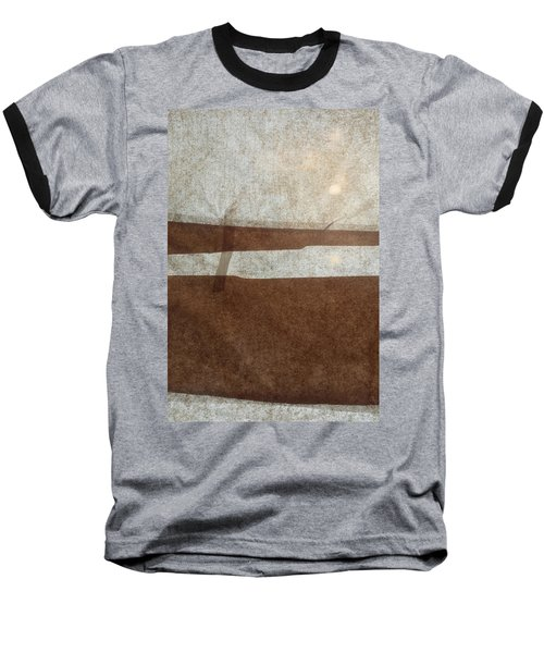 Kraft Paper And Screen Seascape Baseball T-Shirt