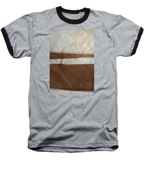 Kraft Paper And Screen Seascape Baseball T-Shirt