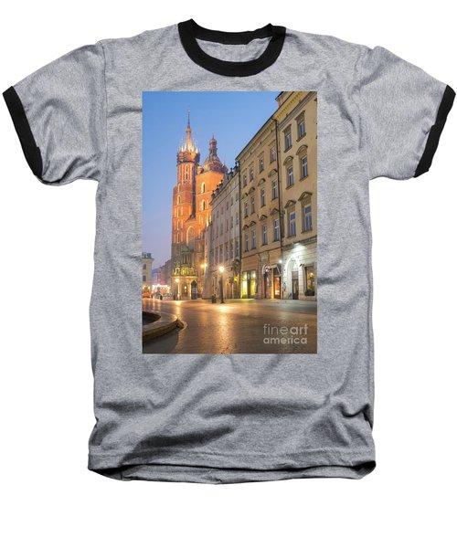 Baseball T-Shirt featuring the photograph Krakow by Juli Scalzi