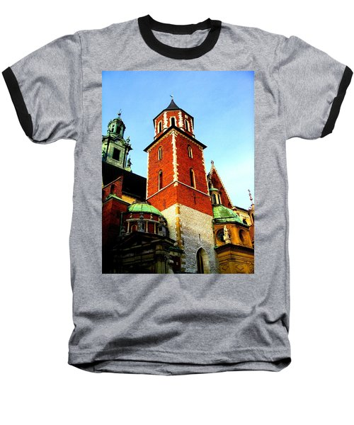 Krakow Poland Baseball T-Shirt