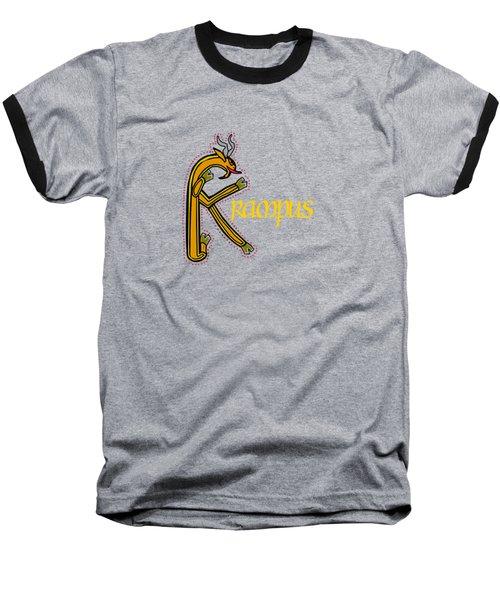 Krampus Baseball T-Shirt
