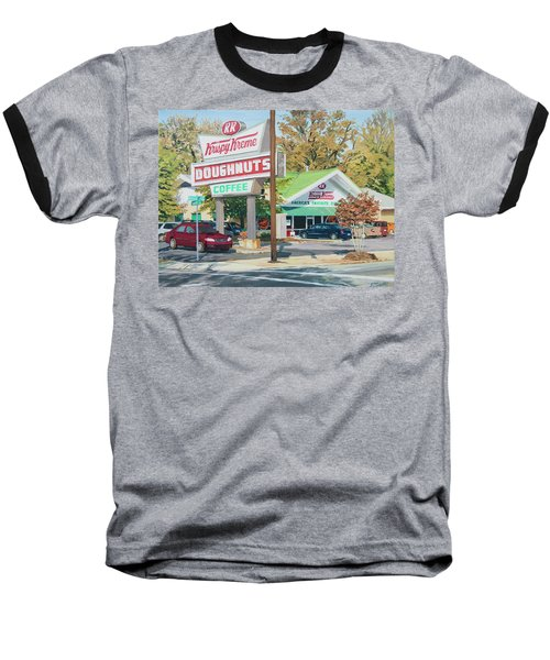 Krispy Kreme At Daytime Baseball T-Shirt