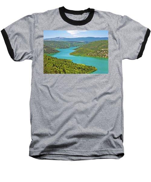 Krka River National Park View Baseball T-Shirt by Brch Photography