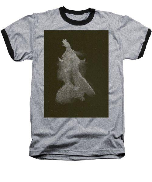 Kroki 2014 10 04_16 Figure Drawing White Chalk Baseball T-Shirt