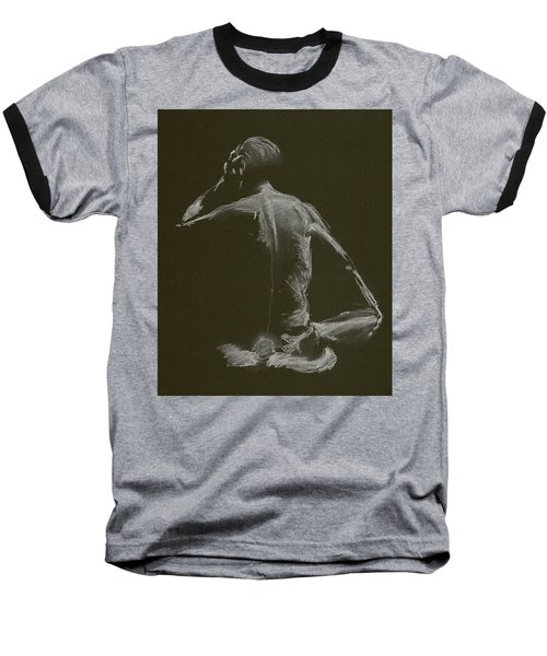 Kroki 2015 01 10_14 Figure Drawing White Chalk Baseball T-Shirt