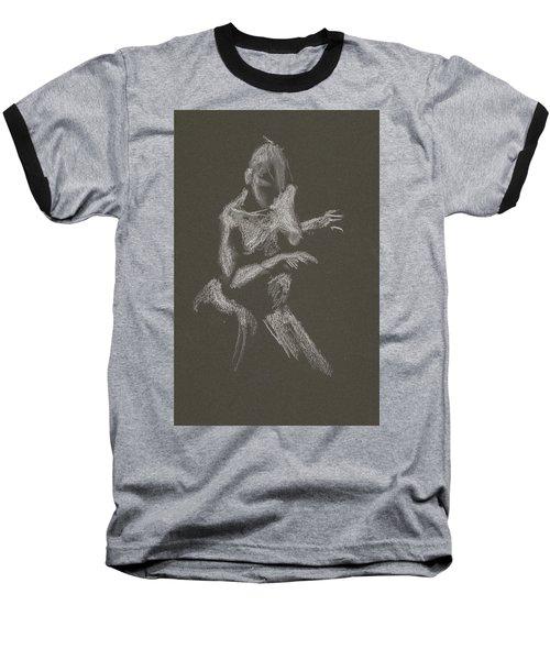 Kroki 2015 10 03_12 Figure Drawing White Chalk Baseball T-Shirt