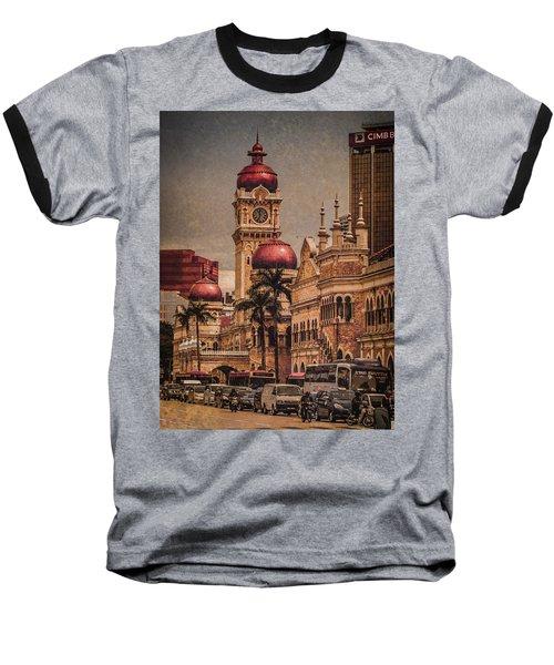 Kuala Lumpur, Malaysia - Red Onion Domes Baseball T-Shirt