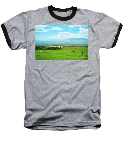 Kula Upcountry Maui Hawaii Baseball T-Shirt by Sharon Mau