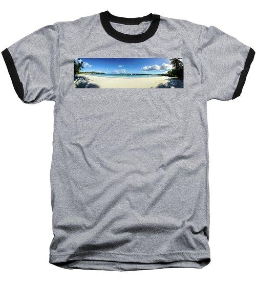 Kuto Bay Morning Pano Baseball T-Shirt