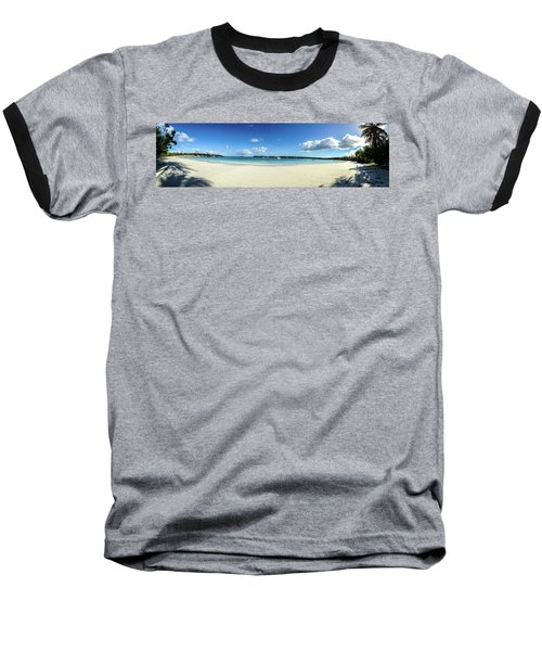 Kuto Bay Morning Pano Baseball T-Shirt