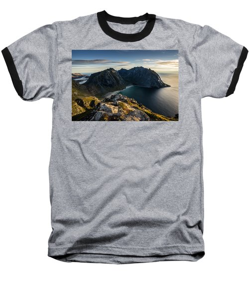 Kvalvika Beach Baseball T-Shirt