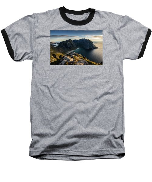 Kvalvika Beach Baseball T-Shirt