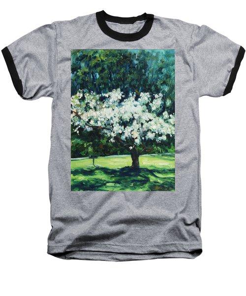 Kwanzan I Baseball T-Shirt by Rick Nederlof