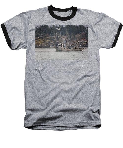 Baseball T-Shirt featuring the photograph Kwiaahwah by Randy Hall