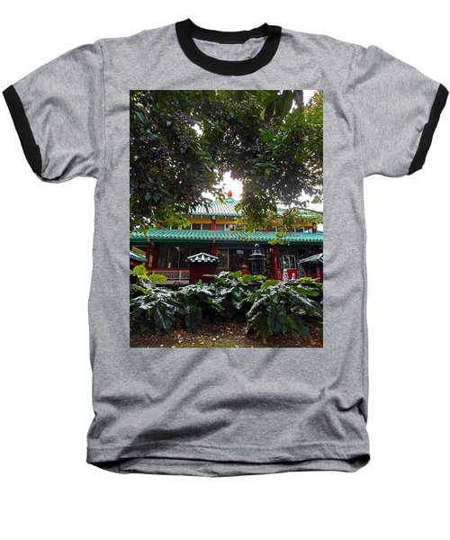 Kwon Yin Temple 4 Baseball T-Shirt
