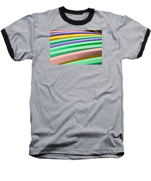 Kyak Rainbow Baseball T-Shirt
