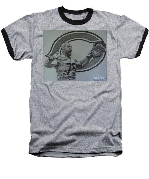 Kyle Long Portrait Baseball T-Shirt