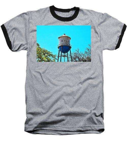 Kyle Texas Water Tower Baseball T-Shirt