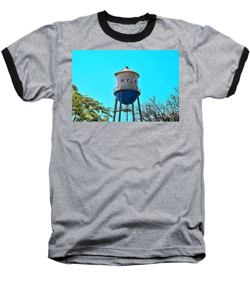 Kyle Texas Water Tower Baseball T-Shirt