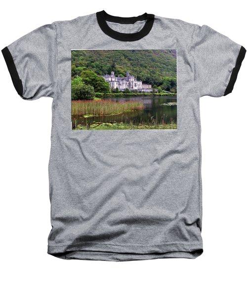 Kylemore Abbey, County Galway, Baseball T-Shirt