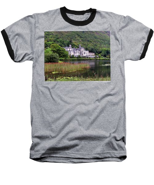 Kylemore Abbey, County Galway, Baseball T-Shirt