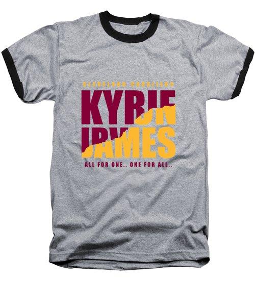 Kyriebron Baseball T-Shirt by Augen Baratbate