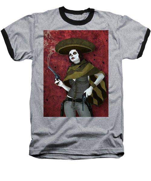 La Bandida Muerta Baseball T-Shirt