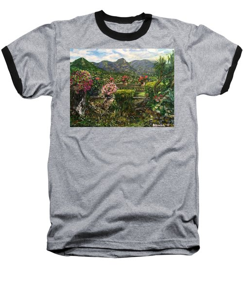 Baseball T-Shirt featuring the painting La Belle Vence by Belinda Low