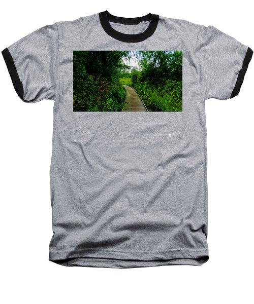 La Budde Boardwalk Baseball T-Shirt by Kimberly Mackowski