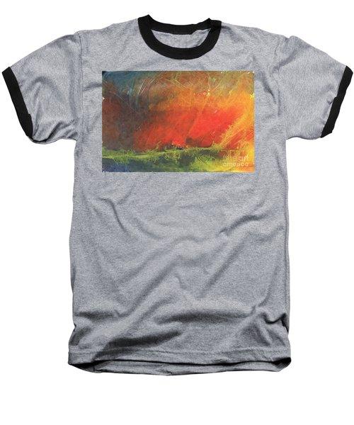 La Caleta Del Diablo Baseball T-Shirt by Jackie Mueller-Jones